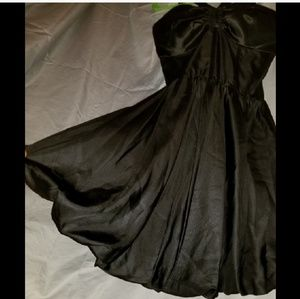 bebe  Little Black Dress timeless sexy Gown new 🌟